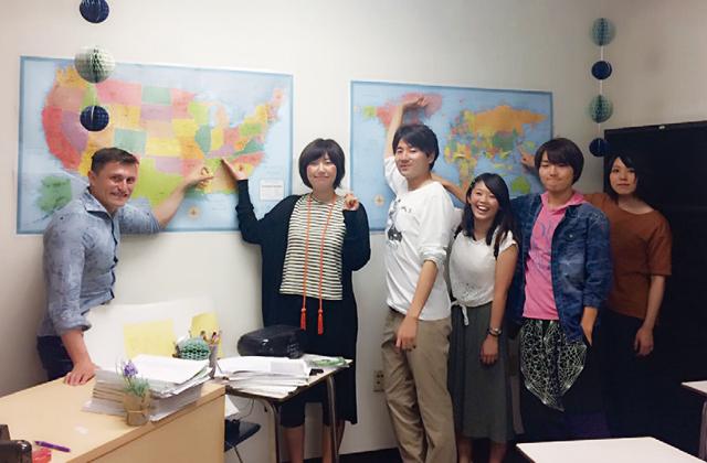 交流協定校での英語・文化研修