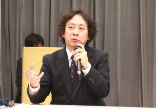 シンポジウムのコーディネーターを務めた柳田 藤寿教授柳田 藤寿教授