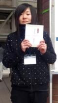 受賞した増田さん