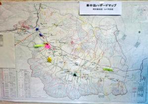 【報告】現地で本学が作成した「車中泊ハザードマップ」